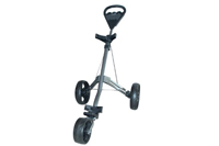 3 wheels handpush golf trolley