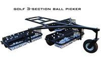 3 section golf ball picker