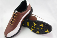 leather golf shoes