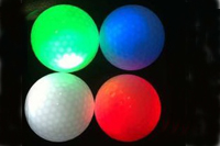 flashing golf ball