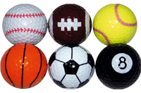 Sports golf balls