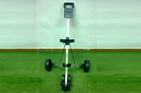 3 wheels golf trolley with braker